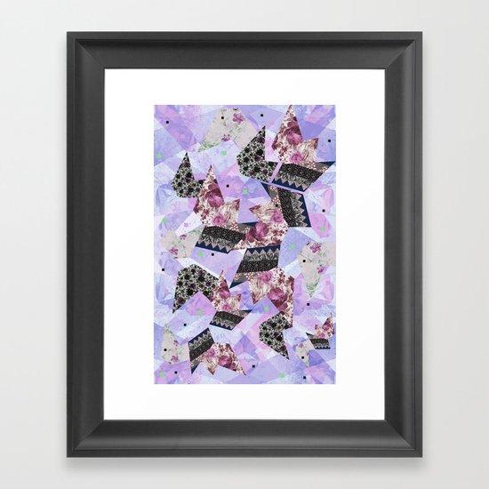 FLORAL HYPNOSIS  Framed Art Print