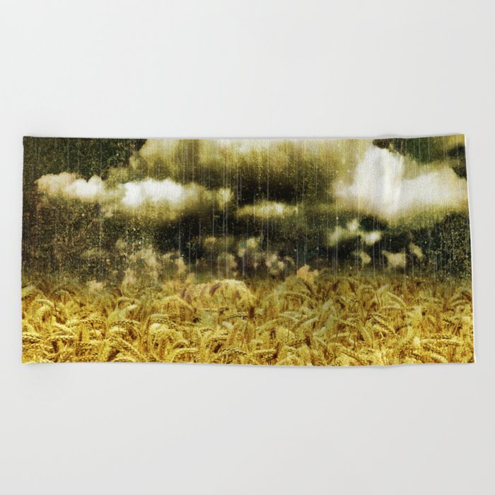 The Golden Age Beach Towel