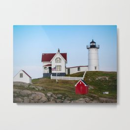 Nubble Lighthouse, York, Maine Metal Print