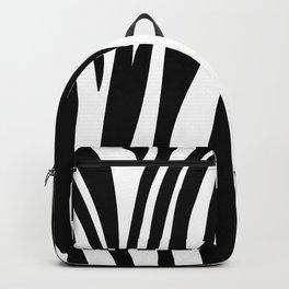 Zebra trendy design artwork animal exotic pattern Backpack
