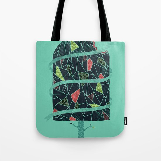 The Winter Tree Tote Bag