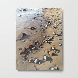Along the Sand Metal Print