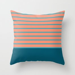 сhristmas tangerine. Throw Pillow