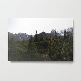 Tatra mountains landscape Metal Print
