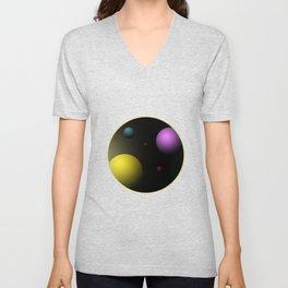 Planets Unisex V-Neck
