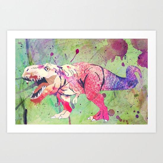 COLOUR ME DANGEROUS. Art Print
