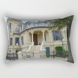 J. C. Trube Castle - Texas Rectangular Pillow