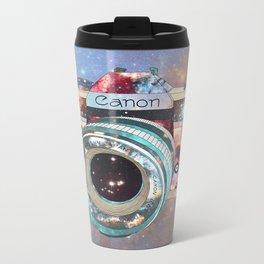 SPACE CAN0N Metal Travel Mug