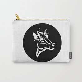 Cow Portrait Carry-All Pouch