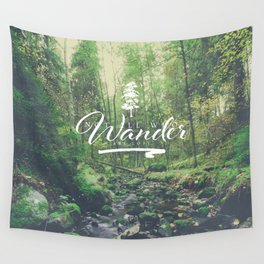Mountain of solitude - text version Wall Tapestry