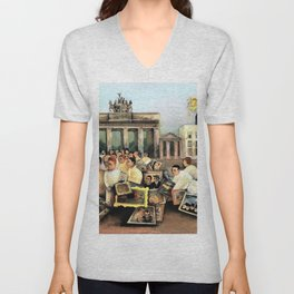 Felix Nussbaum - The great place - Digital Remastered Edition Unisex V-Neck