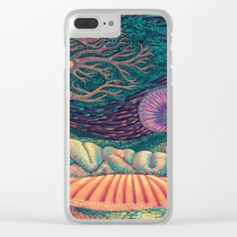 01 - Brain Forest Clear iPhone Case