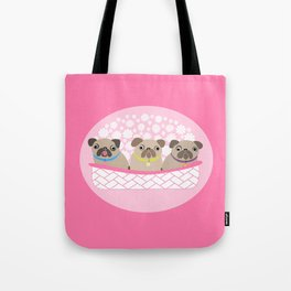 Bouquet of dogs Tote Bag