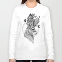 hare Long Sleeve T-shirts featuring HARE by Thiago Bianchini