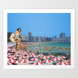 Haeundae Beach Art Print