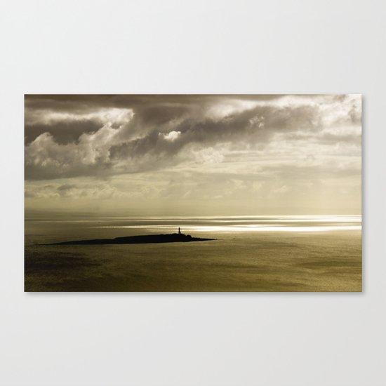 Dusk at Pladda Island Canvas Print