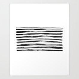 Belted Art Print