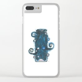 Pal-Totem Clear iPhone Case