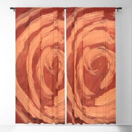 Desert Rose Blackout Curtain