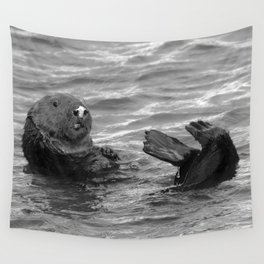 otter feet Wall Tapestry