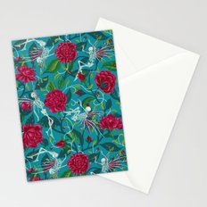Death of Summer (carmine and blue) Stationery Cards