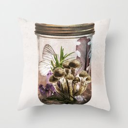 SACRED OBJECTS III Throw Pillow
