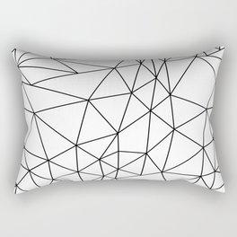 Bedlam Blanc Rectangular Pillow