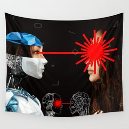 Laser Bot by GEN Z Wall Tapestry