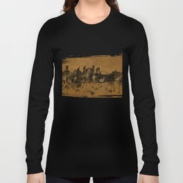 Sydney Harbour, Australia skyline B&B Long Sleeve T-shirt