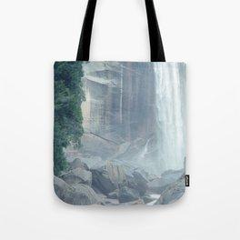 Mist Falls in Yosemite National Park Tote Bag