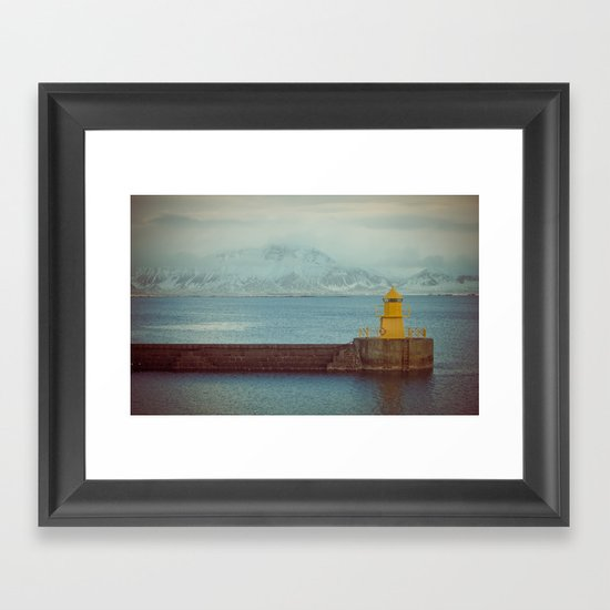 Harbourside Framed Art Print