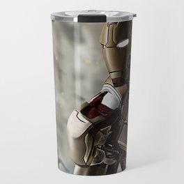 Iron Man age of ultron photoshop painting Travel Mug
