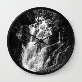 shiraito falls, fukuoka, Japan june 2018 (film photography) Wall Clock