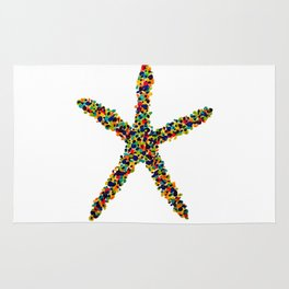 Spotted Starfish Rug