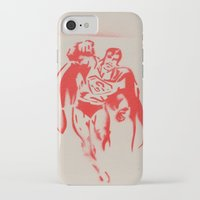 superman iPhone & iPod Cases featuring Superman by jfaiscquejveux