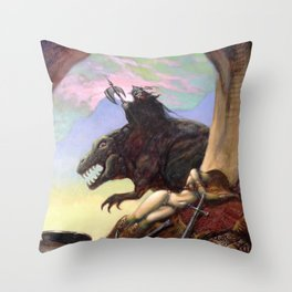 Friend or Foe? Throw Pillow