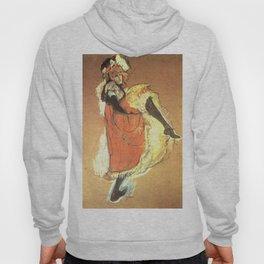 "Henri de Toulouse-Lautrec ""Jane Avril Dancing"" Hoody"