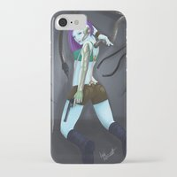 cyberpunk iPhone & iPod Cases featuring Cyberpunk by GrazilDesign