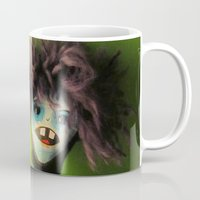 lydia martin Mugs featuring Martin by Bewilderlings