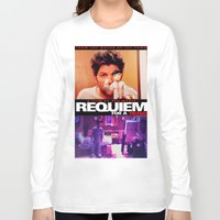 parks and rec Long Sleeve T-shirts featuring Requiem for a Tuesdays Movie Poster (Parks and Rec) by Catofnimes