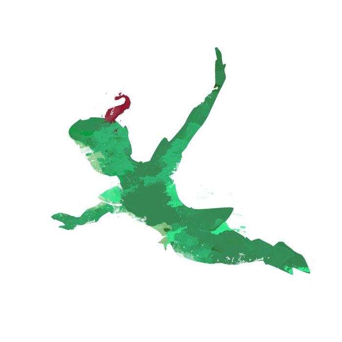 Peter Pan baby  Duvet Cover