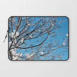 Winter Time Tree Laptop Sleeve
