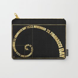 Fibonacci Day, 1,1,2,3, November 23 Carry-All Pouch