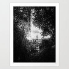 | journey in space-time - a sanctuary for the spirit, chapter I | Art Print