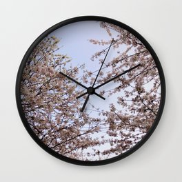 Spring Time Flowers Pt.2 Wall Clock