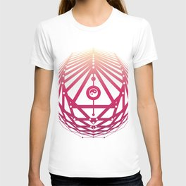 Radiant Abundance (white-sunrise) T-shirt