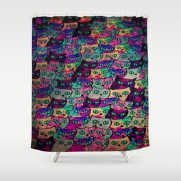 cat-66 Shower Curtain