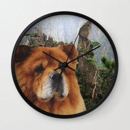 Dog Chow Chow Wall Clock