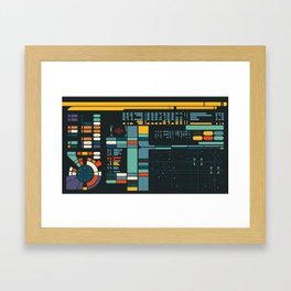 Control Interface Framed Art Print