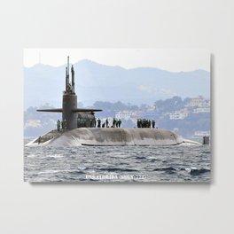 USS FLORIDA (SSGN-728) Metal Print